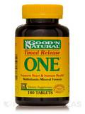 ONE™ (Timed Release) Vitamin And Mineral 180 Tablets