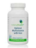 Optimal Multivitamin with Iron - 120 Vegetarian Capsules