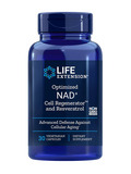 Optimized NAD+ Cell Regenerator™ with Resveratrol - 30 Vegetarian Capsules