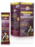 Orac Green Superfood Packets (7 Grams) Box of 15 Count