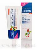 Oral Comfort Antiplaque & Soothing Toothpaste (Flouride-Free) Very Berry Mint 4.2 oz (119 Grams)