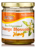 Orange Blossom Honey (Raw & Unprocessed) - 9.4 oz (266 Grams)
