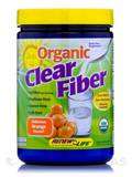 Organic Clear Fiber Orange Flavor 12.7 oz