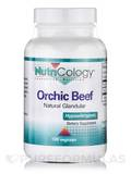 Orchic Beef (Natural Glandular) 100 Vegetarian Capsules