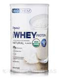 Organic 100% Whey Protein Powder Natural Flavor 10.5 oz (300 Grams)