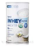 Organic 100% Whey Protein Powder Vanilla Flavor 12.7 oz (360 Grams)