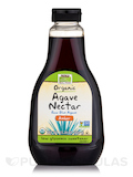 NOW® Real Food - Organic Agave Nectar, Amber - 23.28 fl. oz (660 Grams)