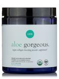 Aloe Gorgeous: Vegan Collagen-Boosting Powder, Chocolate Flavor - 8.68 oz (246 Grams)