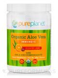 Organic Aloe Vera Immune + C Powder, Passion Fruit / Orange - 20 Servings (160 Grams)