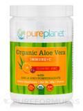 Organic Aloe Vera Immune + C Powder, Passion Fruit / Orange - 20 Servings (160 Grams)