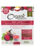 Organic Beet Latte with Fermented Beet and Probiotics - 5.3 oz (150 Grams)