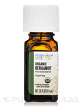 Organic Bergamot Essential Oil 0.25 fl. oz (7.4 ml)