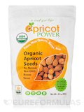 Organic Bitter Raw Apricot Seeds - 32 oz (907 Grams)