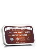 Organic Body Balm Orange Lavender 0.5 oz
