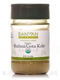Organic Brahmi/Gotu Kola Leaf Powder (Spice Jar) 2.23 oz (63 Grams)