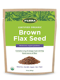 Organic Brown Flax Seed - 14 oz (396 Grams)