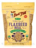 Organic Brown Flaxseed Meal - 16 oz (453 Grams)
