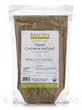 Organic Cardamom Seed Powder 1 Lb (454 Grams)