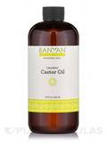 Organic Castor Oil 16 fl. oz (473 ml)