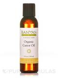 Organic Castor Oil 4 fl. oz (118 ml)