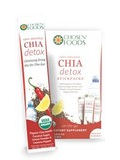 Organic Chia Detox - Box of 10 Pieces (11 Grams each)