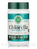 Organic Chlorella 200 mg - 300 Tablets (2.1 oz / 60 Grams)