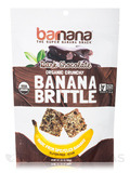 Organic Dark Chocolate Banana Brittle - 3.5 oz (100 Grams)