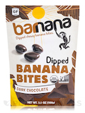 Organic Dark Chocolate Chewy Banana Bites - 3.5 oz (100 Grams)