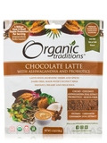 Organic Chocolate Latte with Ashwagandha and Probiotics - 5.3 oz (150 Grams)