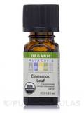 Organic Cinnamon Leaf Essential Oil - 0.25 fl. oz (7.4 ml)