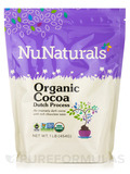 Organic Cocoa (Dutch Process) - 1 lb (454 Grams)