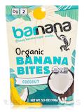Organic Coconut Chewy Banana Bites - 3.5 oz (100 Grams)