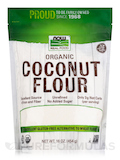 NOW Real Food® - Organic Coconut Flour - 16 oz (454 Grams)