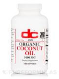 Organic Coconut Oil 1000 mg - 120 Softgels
