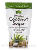 NOW® Real Food - Organic Coconut Sugar, Non-GMO - 16 oz (454 Grams)