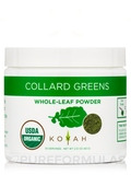 Organic Freeze-Dried Collard Greens Powder - 2.12 oz (60 Grams)