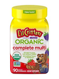 Organic Complete Multivitamin, Mixed Berry Flavor - 90 Vegan Gummies