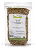 Organic Coriander Seed Whole 0.5 Lb (227 Grams)