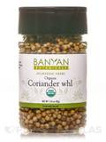 Organic Coriander Seed Whole (Spice Jar) 1.51 oz (42 Grams)