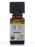 Organic Patchouli Essential Oil - 0.25 fl. oz (7.4 ml)