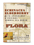 Organic Echinacea Elderberry with Cranberry & Rooibos Herbal Tea Blend - 16 Tea Bags