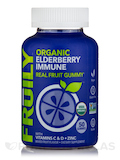 Organic Elderberry Immune Real Fruit Gummy, Mixed Fruit Flavor - 50 Gummies