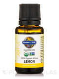 Organic Essential Oil, Lemon - 0.5 fl. oz (15 ml)