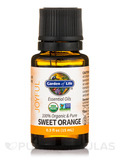 Organic Essential Oil, Sweet Orange - 0.5 fl. oz (15 ml)