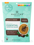 Organic Essential Superfood Blend, Cacao & Greens - 8.8 oz (252 Grams)