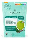Organic Essential Superfood Blend, Vanilla & Greens - 8.4 oz (240 Grams)