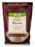 NOW® Real Food - Organic Farro - 16 oz (454 Grams)