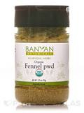 Organic Fennel Seed Powder (Spice Jar) 2.73 oz