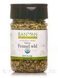 Organic Fennel Seed Whole (Spice Jar) 2.44 oz (69 Grams)