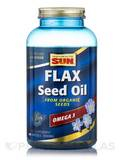 Organic Flax Seed 1000 mg - 180 Softgels